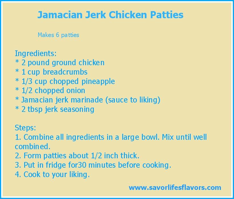 template recipe