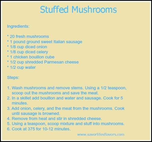 template recipe4